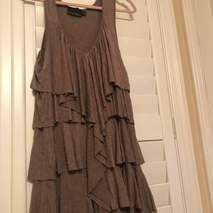 Cynthia Rowley layered dress size, size XL